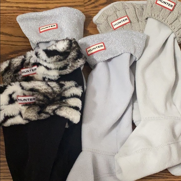 Hunter socks bundle all 3